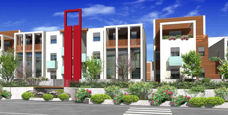 Opera costruzioni eco residence calcinelli for Abitazioni moderne