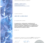 OPERA LIGHT - UNI CEI 11352