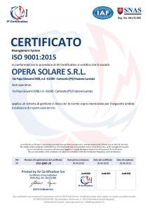 ISO 9001_OPERA SOLARE-29.06.2023 Certifcato rev. 00