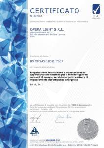 OPERA LIGHT SRL_18001_12.03.2021